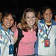 Kristen_with_high_schoolers